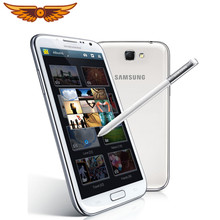 Asli Samsung Galaxy Note II 2 N7100 Quad Core 5.5 Inch 8.0MP 2GB RAM 16GB ROM WCDMA 3G 3100 MAh Android Unlocked Mobile Phone(China)