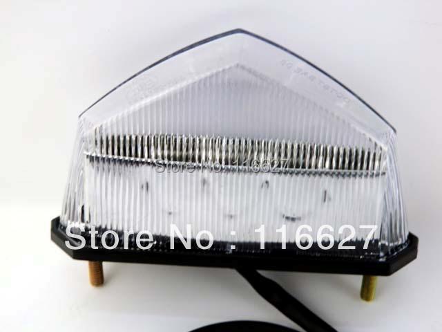 Free Shipping Clear LED Brake Running Tail Light for Yamaha Dual Sport ATV YFZ WR XT TTR TW YZ 80 25