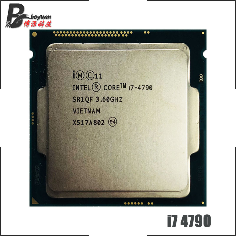 Intel Core i7 4790 i7 4790 3 6 GHz Quad Core CPU Processor 8M 84W LGA