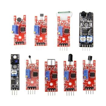 45 in 1 Sensors Modules Starter Kit for arduino, better than 37in1 sensor kit 37 in 1 Sensor Kit