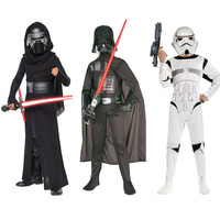Star Wars Clone Troopers Force Awakens Kylo Ren Costume Kids Cosplay Costumes Stormtrooper Darth Vader Fancy
