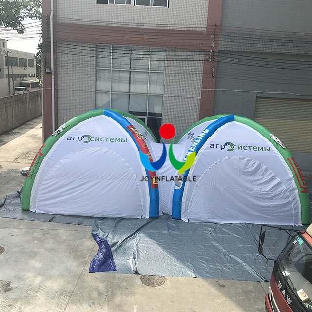 5*5M +5*5M  Hot sale Spider Tent for Exhibition Logo Tent  connect together without air pump
