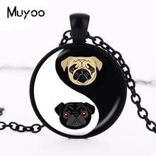 Gifts Glass Bulldog Pendant