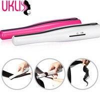 2017 Mini Flat Iron Straightening Irons Hair Straightener Iron 2 In 1 Hair Curl Tools Portable