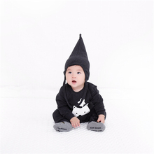Baby bebes boys girls clothes set romper hat boy girl clothing infant Autumn Spring children suits