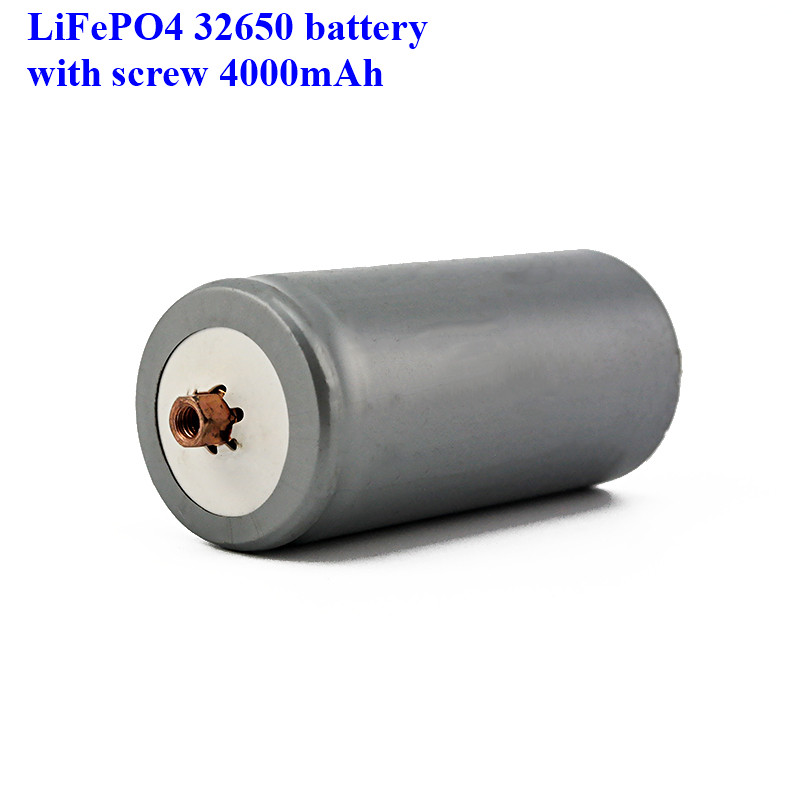 Image 3 - 2pcs a lot screws LiFePO4 battery 32650 4000mAh rechargeable lithium ion cell for Electric bike-in Rechargeable Batteries from Consumer Electronics