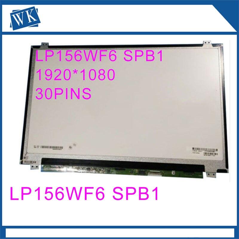 72% Color FHD IPS LP156WF6-SPB1 LP156WF6 SPB1 LP156WF6 (SP)(B1) LED Display Matrix for Laptop15.6 FHD 1920X1080 30Pin Slim72% Color FHD IPS LP156WF6-SPB1 LP156WF6 SPB1 LP156WF6 (SP)(B1) LED Display Matrix for Laptop15.6 FHD 1920X1080 30Pin Slim