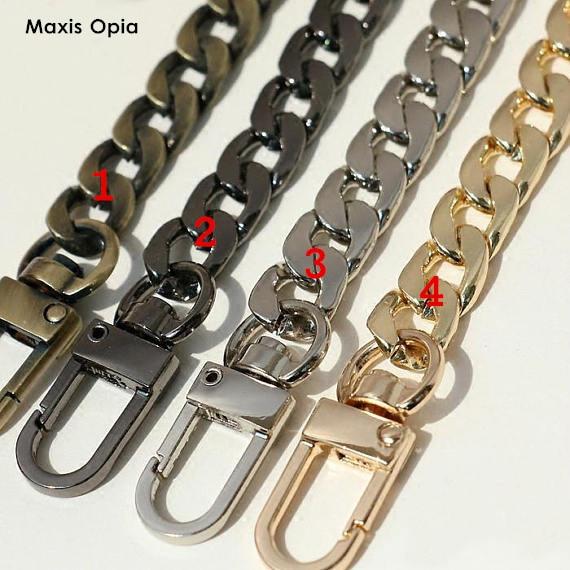 1 Piece Four Colors Metal Bag Chain Sac Chaine Bag Parts For Handbag Metal Strap For Bags Shoulder Straps For Handbags Chain