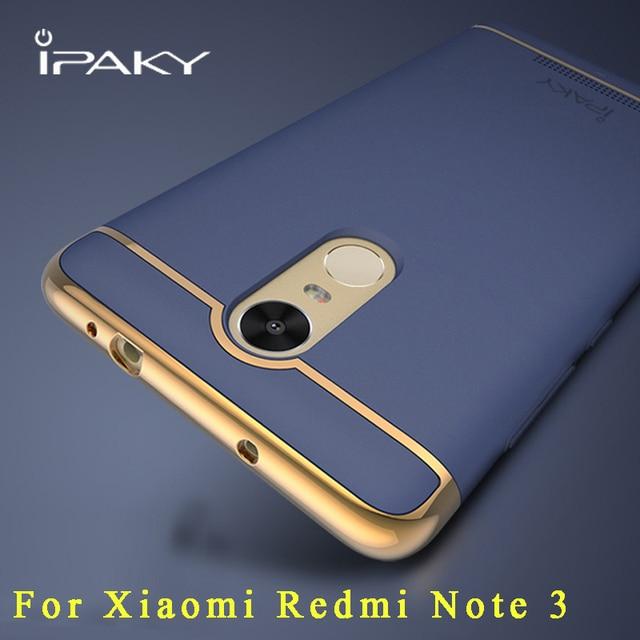 "xiaomi redmi note 3 case Original iPaky Luxury xiaomi redmi note3 case 3 IN 1 PC Cover For xiaomi redmi note 3 pro cases 5.5"""