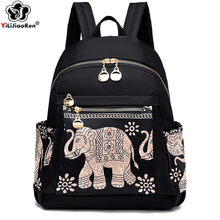 купить High Quality Waterproof Oxford School Bags for Girls Fashion Women Backpack Shoulder Bag Large Capacity Backpack Travel Women дешево