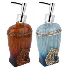 300 мл смолы модные резные мыло для рук Лосьон Диспенсер Дезинфицирующее средство Бутылка домашний отель