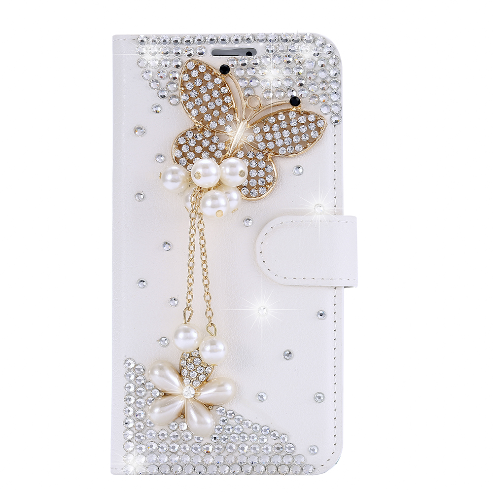 Rhinestone Flip Leather Case for Blu Dash Energy X X2 M2 J Advance 4.0 L2 Life One X 2016 R1 HD D890U 5.0 Grand M