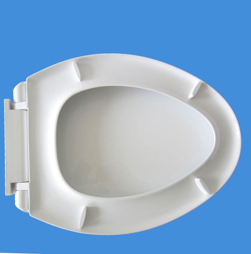 WC-Deckelabdeckung weich schließend hochwertiger weißer - Haushaltswaren - Foto 3
