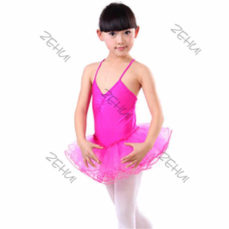 08919d1f8 2016 Child Baby Girl Ballet Dance Party Fairy Dress Leotard Dancewear  Costume for Kids Newest KU6