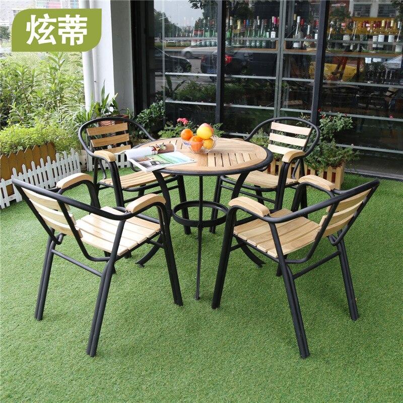 Three Piece Combination Of Casual Outdoor Furniture Patio
