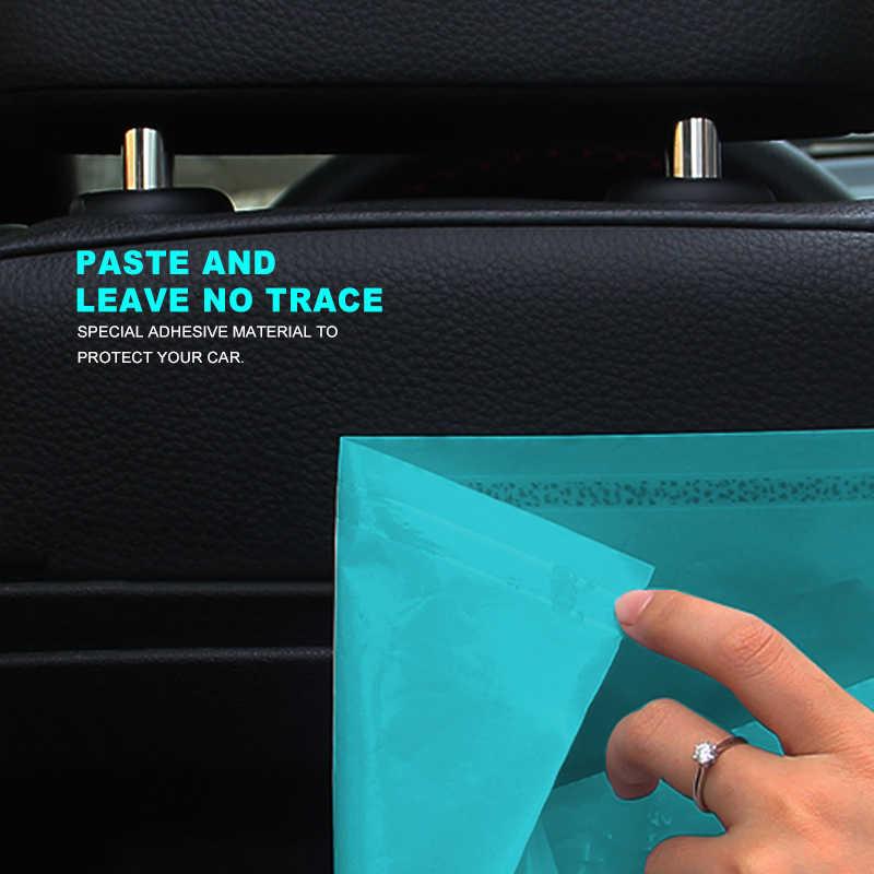 5 шт. водонепроницаемый автомобильный чехол для хранения заднего сиденья, автомобильные аксессуары для грузовика, автомобильный органайзер для багажника, биоразлагаемый мешок для мусора, мешки для мусора