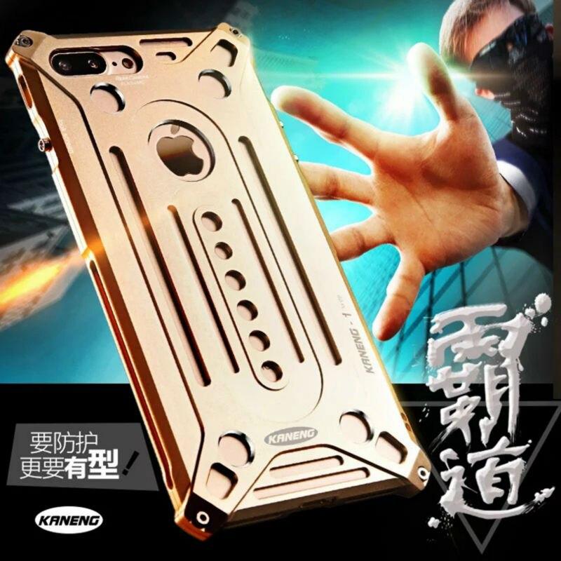 bilder für Luxus metall aluminium fällen für apple iphone 7 plus/7/5 5 s se/6 6 s/6 6 s plus handy rückseite case shell großhandel
