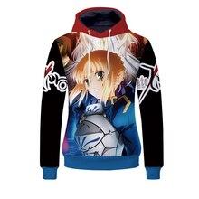 Fans Wear 2019  Fate Zero 3d Printed Hoodie for Unisex Hoodies My Hero Academia Sweatshirt Anime No Cosplay