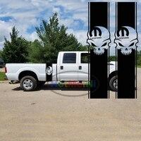 מיטת HotMeiNi 2x Mopar גולגולת עבור טנדר דודג 'פסים אביזרי רכב גוף מדבקות לרכב מדבקות 34.5*8.3 ס