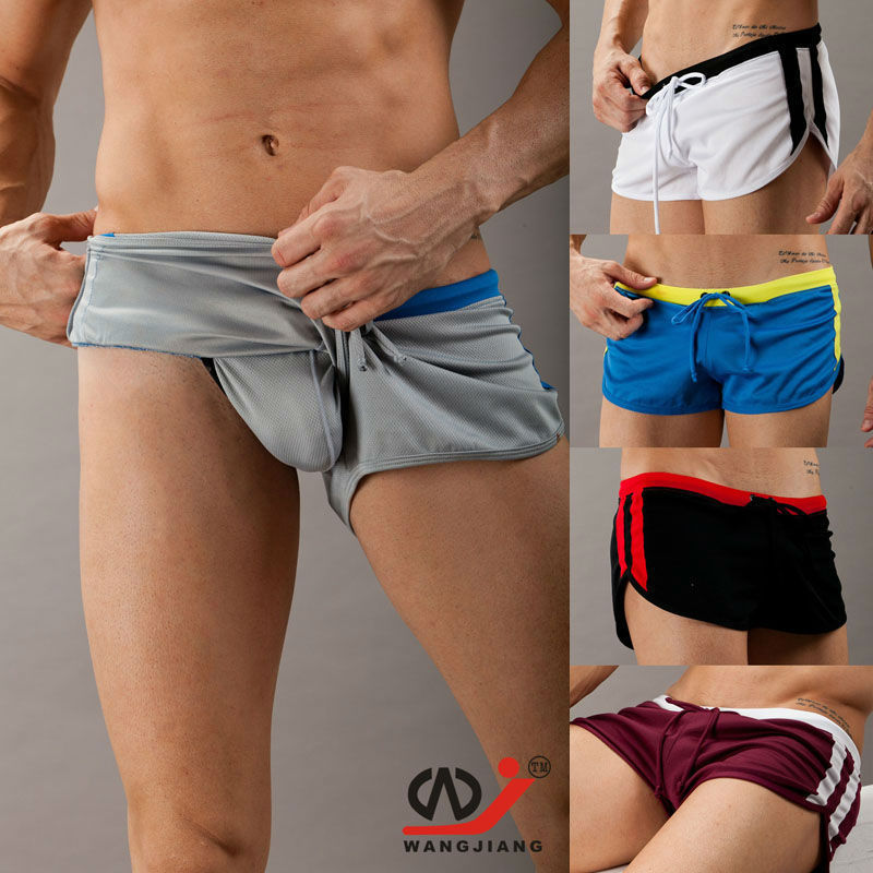WJ heren shorts mode loungeshorts goed sneldrogende stof aro lage taille shorts