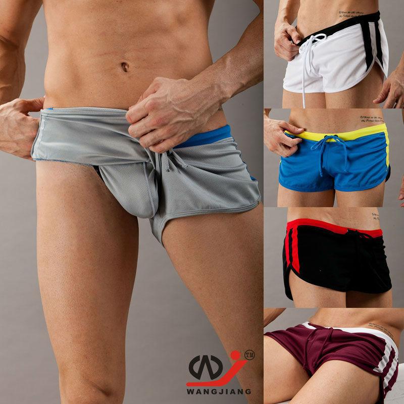 WJ Men's Shorts Fashion Loungeshorts Well Quick-drying Fabric Aro Low-waist Shorts