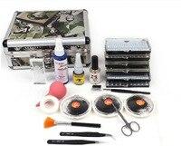 FT-87 ro Neue Falsche Wimpern Verlängerung Kleber Kit Set Individuelle Wimpern Salon Fall Makeup Tools Für Frauen Freies Verschiffen