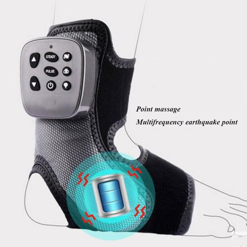 HANRIVER Ankle massager knöchel unterstützung knöchel joint heiße kompresse knöchel thermische schock Achilles plantar druck kneten physiother - 6