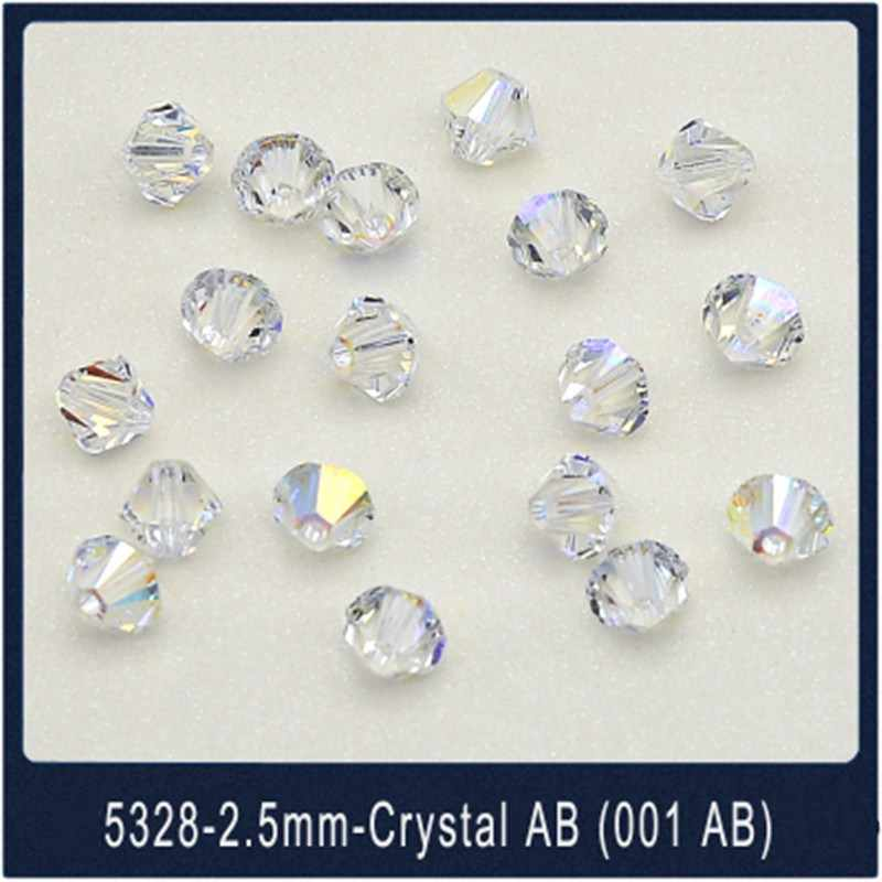 Ms Betti hot sale 5328 XILION 2.5mm Bicones Beads crystal from Swarovski loose beads stone retail for jewelry DIY making Bijoux