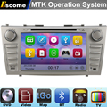 MTK3360 Car DVD Automotivo For Toyota Camry 2007 2008 2009 2010 2011 with Bluetooth Radio GPS Navigation