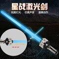Star Wars The Force Desperta Telescópica Sabre De Luz com On/Off LEVOU Sabre de Luz de Som & Balas Disparadas Brinquedos Dos Miúdos Presente de natal