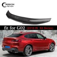 G02 Back Wing Carbon Fibre Car Rear Wing Spoiler For BMW X4 Spoiler 2018+