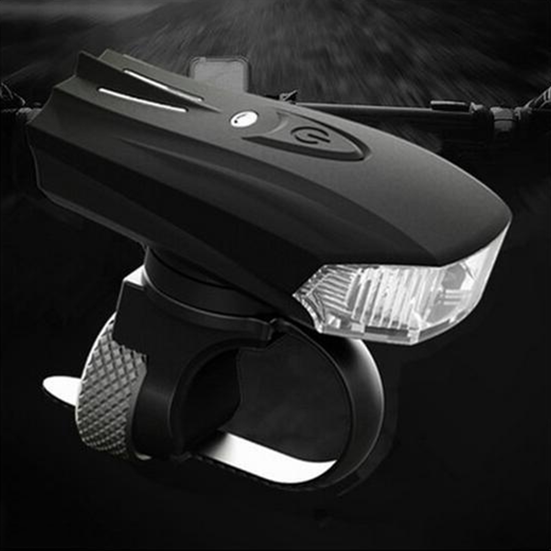 Bicycle Smart Head Light Intelligent Front Lamp USB Rechargeable Handlebar LED Lantern Cycling Flashlight Bicycle Accessories