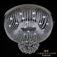 85 265 V Led Crystal Light Round The Sitting Room Is Contemporary And Contracted Meals Chandeliers