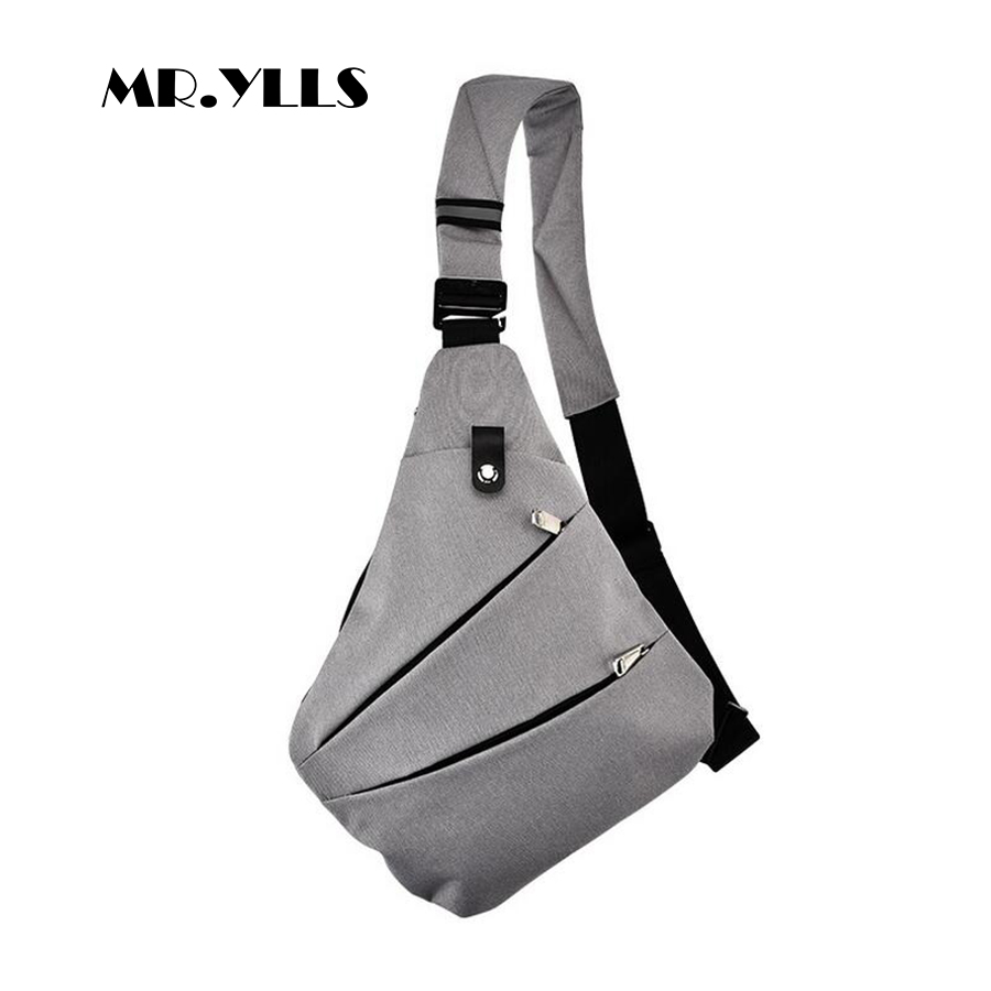 MR.YLLS Waterproof Shoulder Bags Business Style Chest Bag