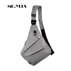 MR.YLLS Waterproof Shoulder Bags Men Business Style Chest Bag Male Nylon Messenger Bags Man Fashion Crossbody Bag Men Bolsa 2018