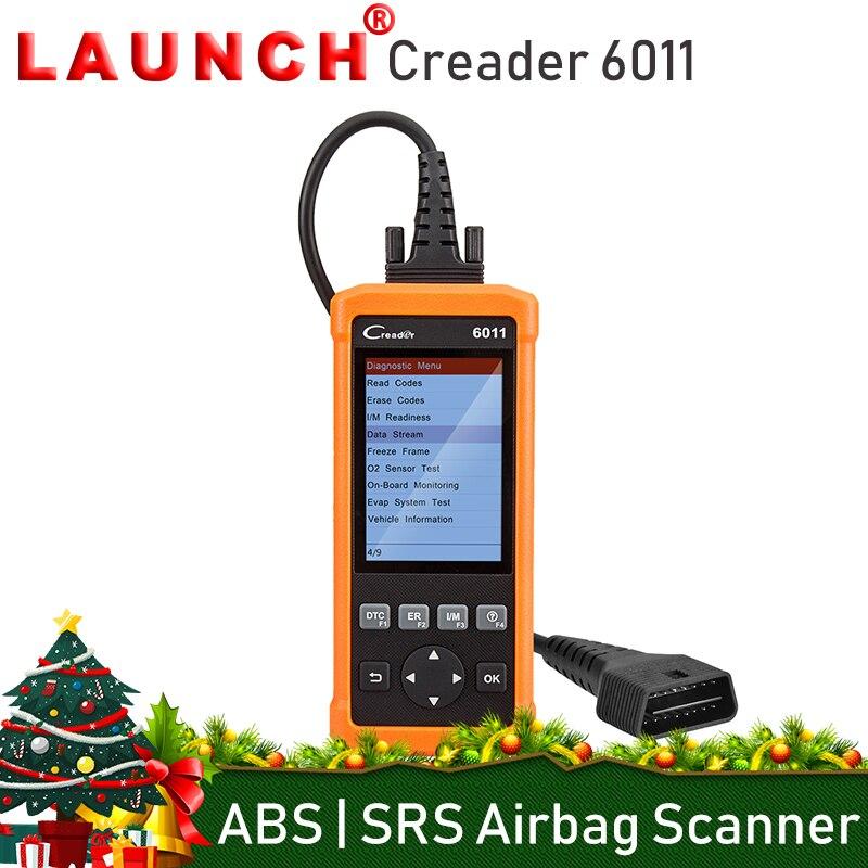 Старт CReader 6011 OBD2 сканер автомобильной антиблокировочная система тормозов система пассивной безопасности сканер OBD 2 код читателя диагности...