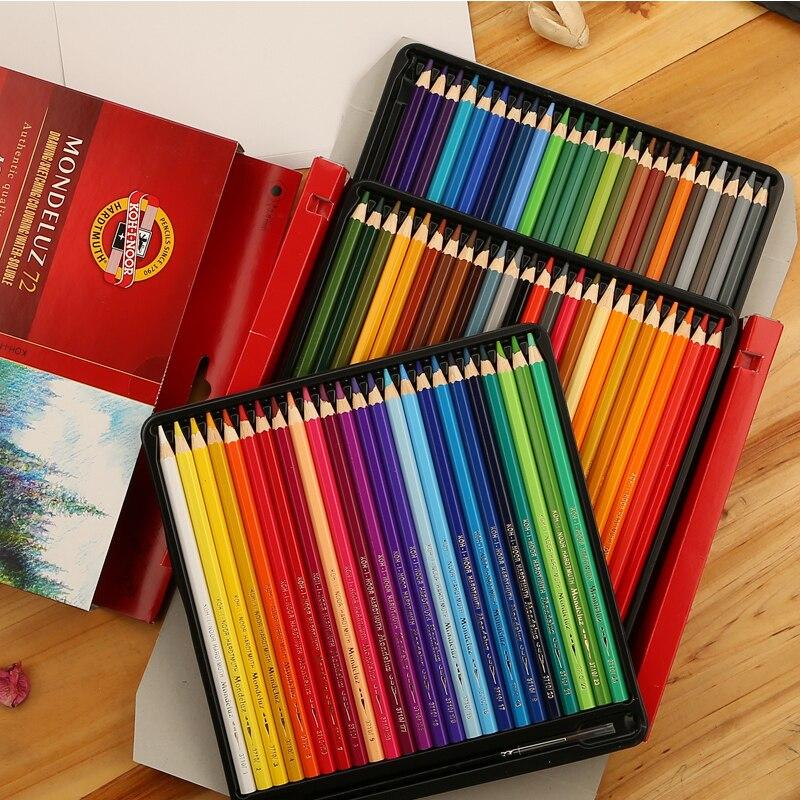 Buntstifte Mondeluz Aquarell Watercolor Pencils  4 VERSION  colors KOH-I-NOOR