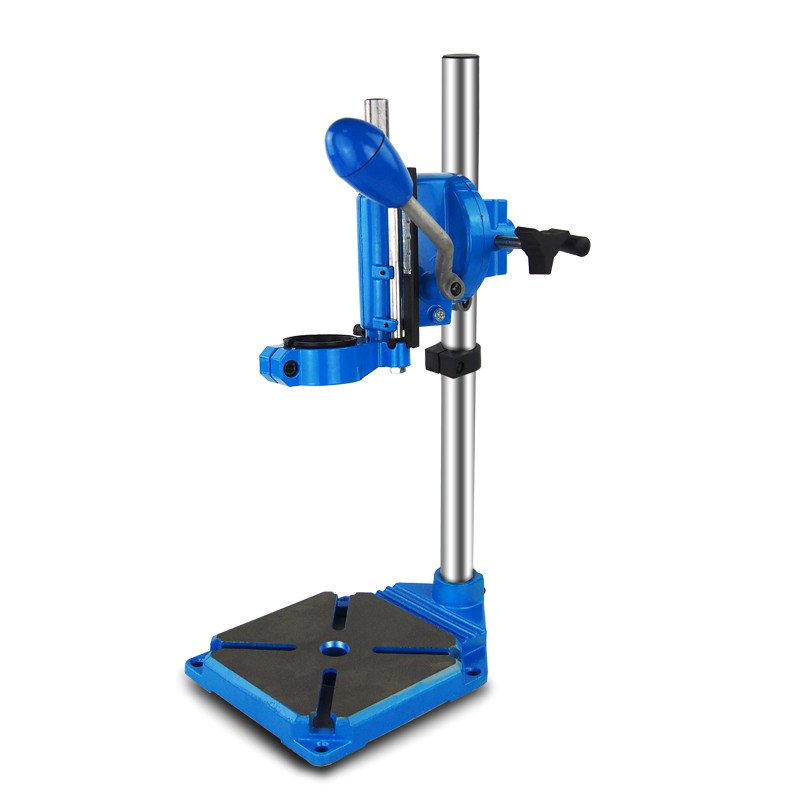 Electric Drill Stand Power Rotary Tools Accessories Bench Drill Press Stand cast iron Base Drill Holder