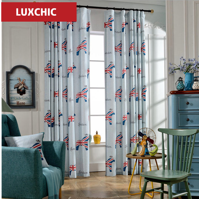 American Classic Luxury Window font b Curtains b font for Living Room Bedroom Gilded Cloth font