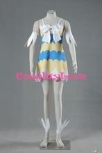 Fairy Tail Dragon Slayers Wendy Marvell Girl Dress Cosplay Costume Custom Made Halloween Christmas Stock High Quality