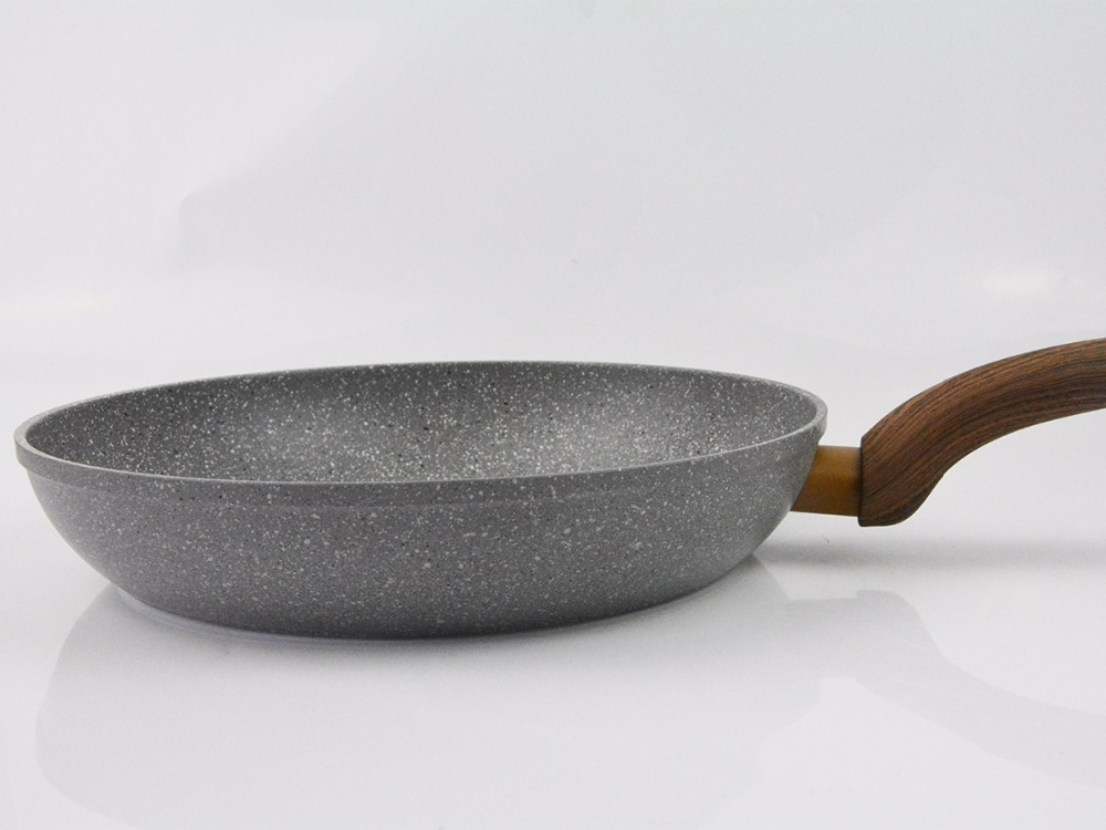Chinese Medical Stone Non-Stick Granite Frying Pan 4