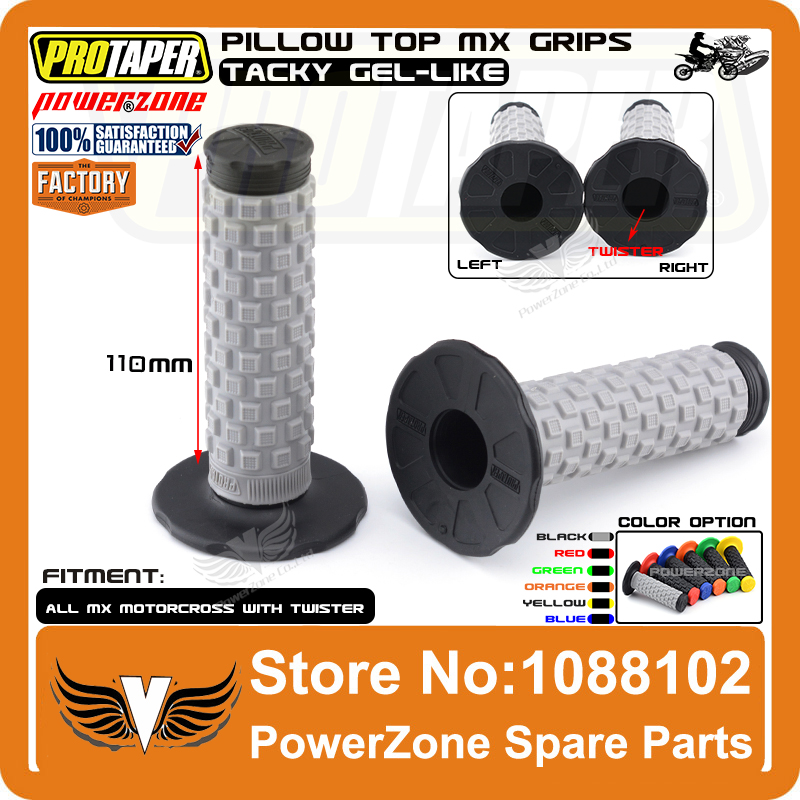 Pillow Top Handlebar Grips Honda Dirt Bike Motorcycles Fits Pro Taper Bars US MY