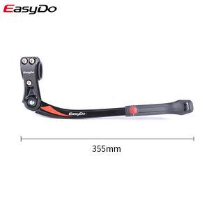 Image 3 - EasyDo אופני Kickstand מתכוונן אלומיניום סגסוגת אופני עמדת בעיטת צד הר מתלה חניה אופניים Stand