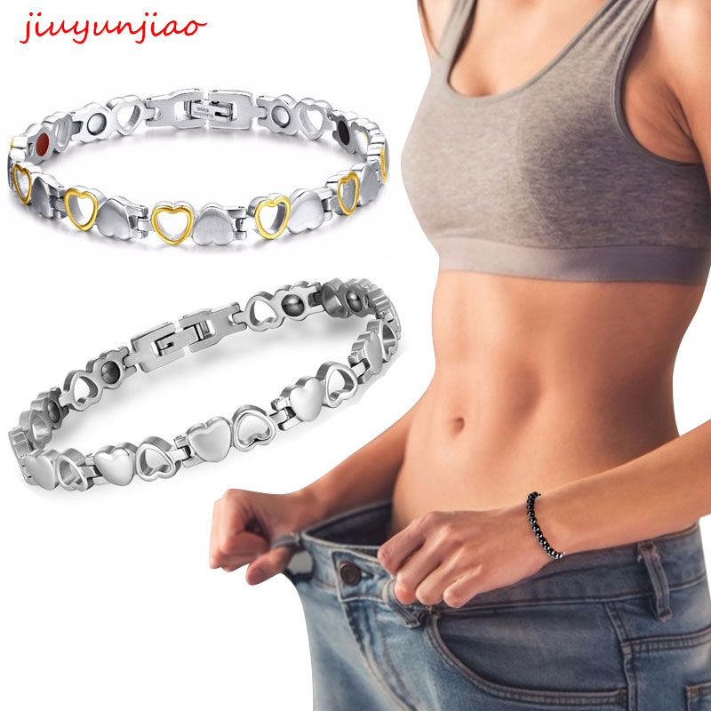 Healthy Magnetic Slimming Bracelet Fashionable Jewelry For Woman Man Link Chain Weight Loss Bracelet Health Slimming Weight