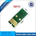 Nova t6711 one time use tanques de manutenção chip para epson wf-3520/wf-3620d wf-7110 7110dtw 7610 impressora