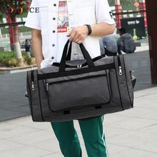 Torba podróżna Fitness torebka torba weekendowa o dużej pojemności nylonowa torba podróżna tanie tanio MOJOYCE CN (pochodzenie) Wszechstronny Torby podróżne zipper Podróż torba SOFT Na co dzień Stałe WOMEN