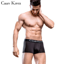 Brand Antibacterial mens underwear Solid male Stretch Cotton Boxer Shorts Mens Underwear Breathable Underpants Panties