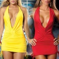 6colors sexy dress nightclub dress hot selling sexy costume v deep backless NEW club wear party girl