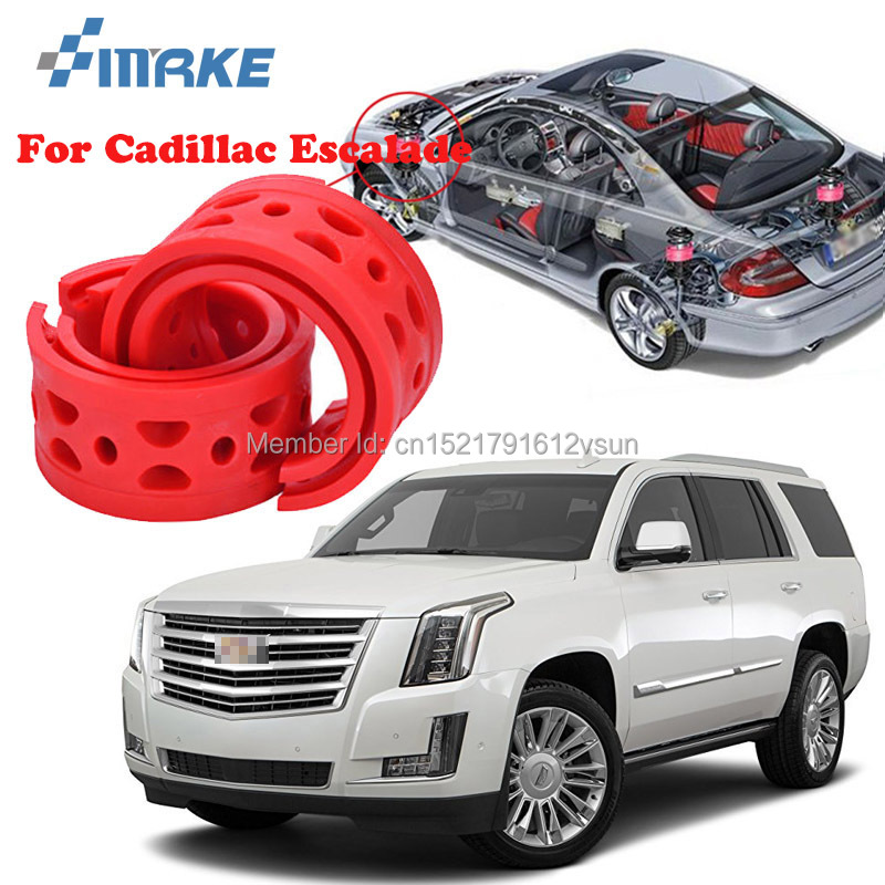 smRKE For Cadillac Escalade Car Auto Shock Absorber Spring Buffer Bumper Power Cushion Damper Front/Rear High Quality SEBS