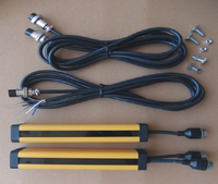 Transistor PNP Normally Closed 16 Points 40MM Safety Light Curtain Safety Grating Optical Protection Punch Sensor